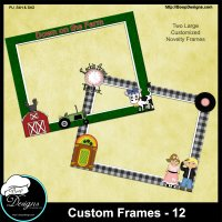 Custom Frames 12 by Boop Designs