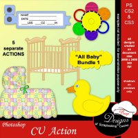 All Baby Bundle #1 by Boop Designs