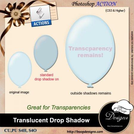 Translucent Drop Shadows by Boop Designs
