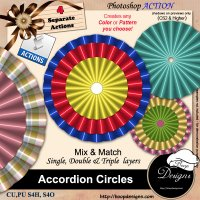 Accordion Circles by Boop Designs