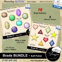 Brads BUNDLE - Soft Polish by Boop Designs