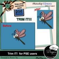 PSE ACTION - Trim It for PSE users by Boop Designs
