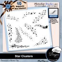 Star Clusters by Boop Designs