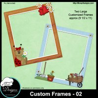 Custom Frames 02 by Boop Designs