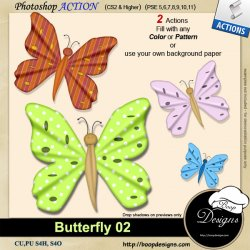 Butterfly 02 by Boop Designs
