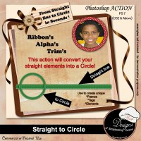 Straight to Circle by Boop Designs