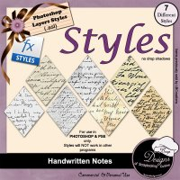 Handwriting Notes STYLES by Boop Designs