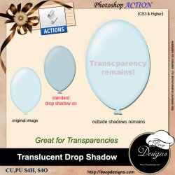 Translucent Drop Shadows by Boop Designs
