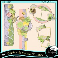 Spring Poetry Cluster Combos by Boop Designs