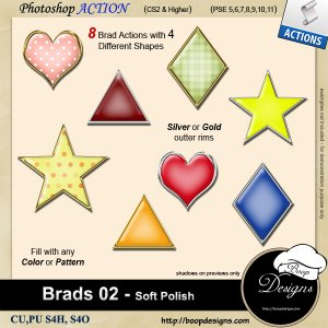 Brads 02 - Soft Polish by Boop Designs