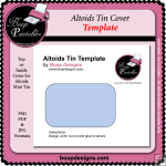 Altoids Tin Cover TEMPLATE by Boop Designs