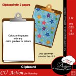 Clipboard by Boop Designs
