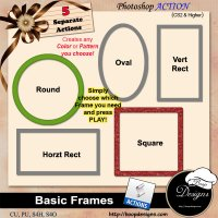 Basic Frames by Boop Designs