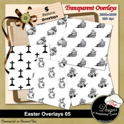 Easter Overlays 05 by Boop Designs