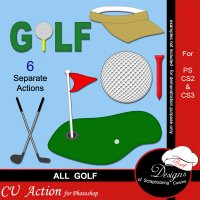 Golf by Boop Designs