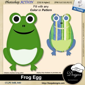 Frog Egg by Boop Designs