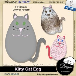 Kitty Cat Egg by Boop Designs