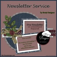 Newsletter Service by Boop Designs