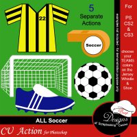 Soccer by Boop Designs