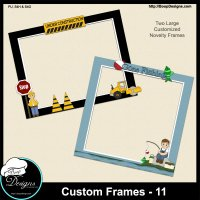 Custom Frames 11 by Boop Designs
