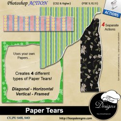 Paper Tears by Boop Designs