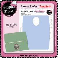 Money Holder TEMPLATE by Boop Designs