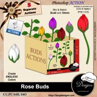 Rose Buds by Boop Designs
