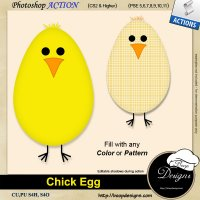 Chick Egg by Boop Designs