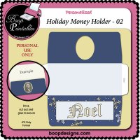 Holiday Money Holder 02 by Boop Designs