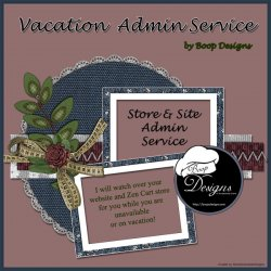 Vacation Admin Service by Boop Designs