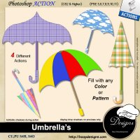 Umbrellas by Boop Designs