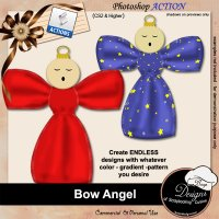 Bow Angel by Boop Designs