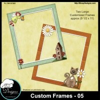 Custom Frames 05 by Boop Designs