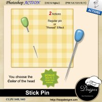 Stick Pin by Boop Designs
