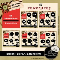 Button Templates Bundle 01 by Boop Designs