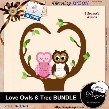 Owl Love BUNDLE by Boop Designs