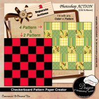 Checkerboard Paper Creator by Boop Designs