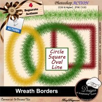 Wreath Borders by Boop Designs