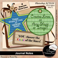 Journal Notes by Boop Designs