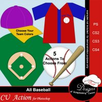 Baseball by Boop Designs