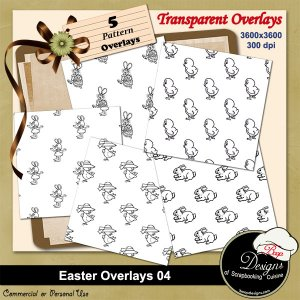 Easter Overlays 04 by Boop Designs