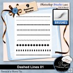Dashed Lines 01 by Boop Designs