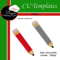 Pencil - CU Template by Boop Designs