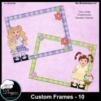 Custom Frames 10 by Boop Designs