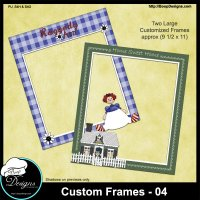 Custom Frames 04 by Boop Designs
