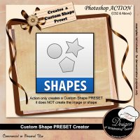 Custom Shape Preset Creator by Boop Designs