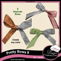 Pretty Bows 09 by Boop Designs