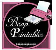 Boop Printables