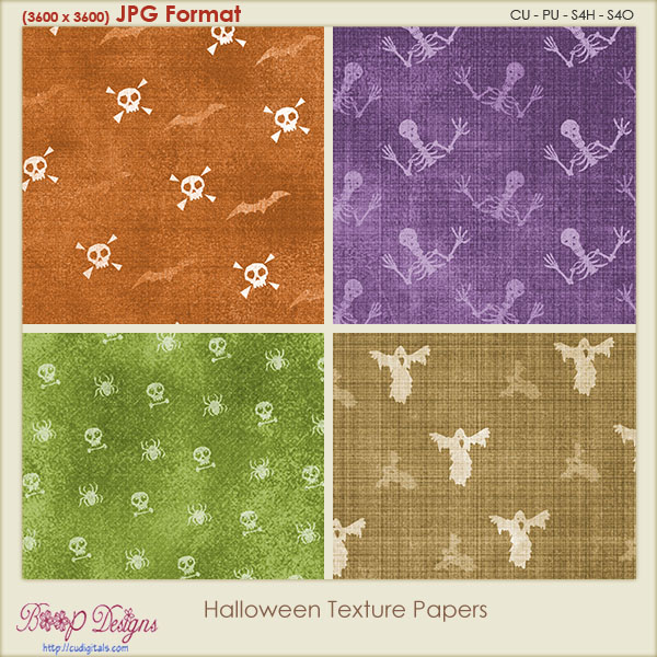 Halloween Texture PAPERS 1