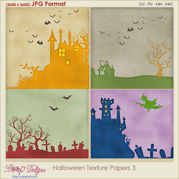 Halloween Texture PAPERS 3